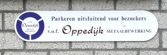 kramer_belettering_orouting_oppedijk_parkeren_voor_bezoekers